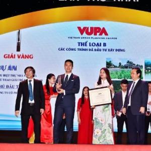Xuân Cầu Holdings vinh dự đón nhận hai Giải thưởng Quy hoạch Đô thị Quốc gia