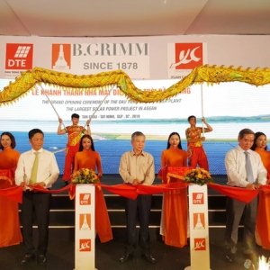 INAUGURATION OF THE LARGEST CLUSTER SOLAR POWER PLANTS IN SOUTHEAST ASIA
