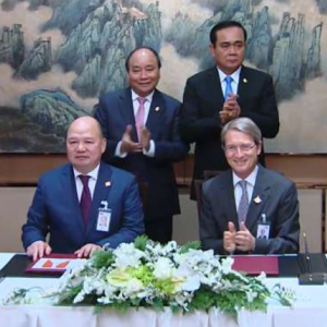 SIGNING INVESTMENT COOPERATION ON THE SOLAR POWER PLANTS PROJECT IN TAY NINH
