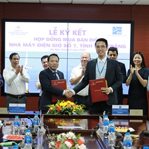 SIGNING CEREMONY OF THE CONTRACT BETWEEN STE JSC AND EPTC POWER TRADING COMPANY